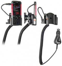 Support voiture  Brodit Nokia 5310  avec chargeur allume cigare - Avec rotule orientable. Réf 965227