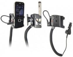 Support voiture  Brodit Nokia N78  avec chargeur allume cigare - Avec rotule orientable. Réf 965232