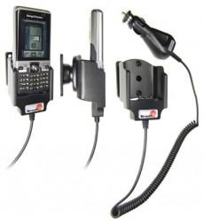 Support voiture  Brodit Sony Ericsson C702  avec chargeur allume cigare - Avec rotule orientable. Réf 965233