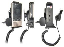Support voiture  Brodit Sony Ericsson G700  avec chargeur allume cigare - Avec rotule orientable. Réf 965234