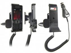 Support voiture  Brodit Sony Ericsson C902  avec chargeur allume cigare - Avec rotule orientable. Réf 965241