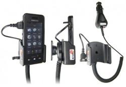 Support voiture  Brodit Samsung Instinct  avec chargeur allume cigare - Avec rotule orientable. Réf 965248