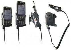 Support voiture  Brodit Nokia E66  avec chargeur allume cigare - Avec rotule orientable. Réf 965250