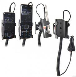 Support voiture  Brodit Nokia 6210 Navigator  avec chargeur allume cigare - Avec rotule orientable. Réf 965259