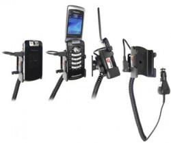 Support voiture  Brodit BlackBerry Pearl Flip 8220  avec chargeur allume cigare - Avec rotule orientable. Réf 965276