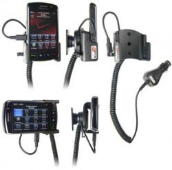 Support voiture  Brodit BlackBerry Storm  avec chargeur allume cigare - Avec rotule orientable. Réf 968875