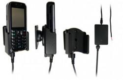 Support voiture  Brodit Nokia 6233  installation fixe - Avec rotule, connectique Molex. Chargeur 2A. Réf 971082