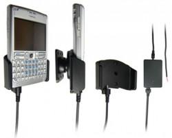 Support voiture  Brodit Nokia E61  installation fixe - Avec rotule, connectique Molex. Chargeur 2A. Réf 971098