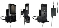 Support voiture  Brodit Sony Ericsson K550  installation fixe - Avec rotule, connectique Molex. Chargeur 2A. Réf 971144
