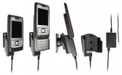 Support voiture  Brodit Nokia E65  installation fixe - Avec rotule, connectique Molex. Chargeur 2A. Réf 971147