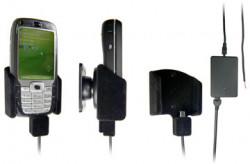 Support voiture  Brodit HTC S710  installation fixe - Avec rotule, connectique Molex. Chargeur 2A. Pour un montant position fermée. Surface &quot