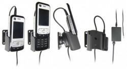 Support voiture  Brodit Nokia 6110 Navigator  installation fixe - Avec rotule, connectique Molex. Chargeur 2A. Réf 971164