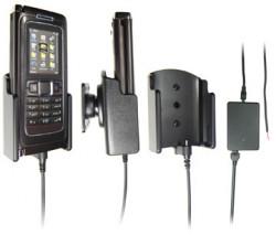 Support voiture  Brodit Nokia E90  installation fixe - Avec rotule, connectique Molex. Chargeur 2A. Pour un montant position fermée. Réf 971165