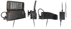 Support voiture  Brodit Nokia E90  installation fixe - Avec rotule, connectique Molex. Chargeur 2A. Pour une position ouverte horizontale. Réf 971166