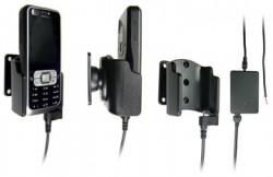 Support voiture  Brodit Nokia 6120 Classic  installation fixe - Avec rotule, connectique Molex. Chargeur 2A. Réf 971167