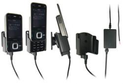 Support voiture  Brodit Nokia N81  installation fixe - Avec rotule, connectique Molex, chargeur 2A. Réf 971179