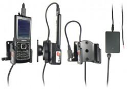 Support voiture  Brodit Nokia 6500 Classic  installation fixe - Avec rotule, connectique Molex, chargeur 2A. Réf 971184