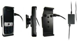 Support voiture  Brodit Nokia 2630  installation fixe - Avec rotule, connectique Molex, chargeur 2A. Réf 971197