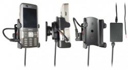 Support voiture  Brodit Nokia N82  installation fixe - Avec rotule, connectique Molex, chargeur 2A. Réf 971198