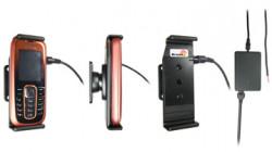 Support voiture  Brodit Nokia 2600 Classic  installation fixe - Avec rotule, connectique Molex. Chargeur 2A. Réf 971204