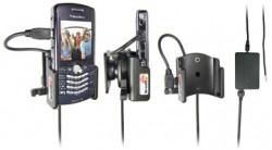 Support voiture  Brodit BlackBerry Pearl 8110  installation fixe - Avec rotule, connectique Molex. Chargeur 2A. Réf 971206