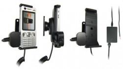 Support voiture  Brodit Sony Ericsson W890i  installation fixe - Avec rotule, connectique Molex. Chargeur 2A. Réf 971221