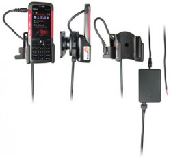 Support voiture  Brodit Nokia 5310  installation fixe - Avec rotule, connectique Molex. Chargeur 2A. Réf 971227
