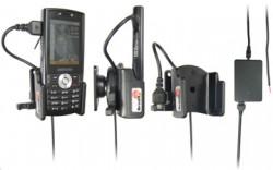 Support voiture  Brodit Samsung SGH-I200  installation fixe - Avec rotule, connectique Molex. Chargeur 2A. Réf 971228