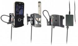 Support voiture  Brodit Nokia N78  installation fixe - Avec rotule, connectique Molex. Chargeur 2A. Réf 971232