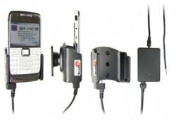 Support voiture  Brodit Nokia E71  installation fixe - Avec rotule, connectique Molex. Chargeur 2A. Réf 971242