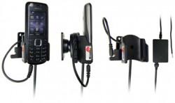 Support voiture  Brodit Nokia 3120 Classic  installation fixe - Avec rotule, connectique Molex. Chargeur 2A. Réf 971244