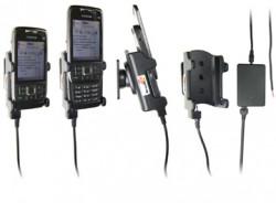 Support voiture  Brodit Nokia E66  installation fixe - Avec rotule, connectique Molex. Chargeur 2A. Réf 971250