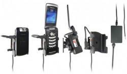 Support voiture  Brodit BlackBerry Pearl Flip 8220  installation fixe - Avec rotule, connectique Molex. Chargeur 2A. Réf 971276