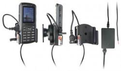 Support voiture  Brodit Samsung SGH-B2700  installation fixe - Avec rotule, connectique Molex. Chargeur 2A. Réf 971277