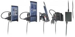 Support voiture  Brodit Sony Ericsson W595  installation fixe - Avec rotule, connectique Molex. Chargeur 2A. Réf 971278