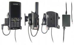 Support voiture  Brodit Sony Ericsson W902  installation fixe - Avec rotule, connectique Molex. Chargeur 2A et Pass-Through Connector. Réf 971292