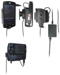 Support voiture  Brodit HP iPAQ Data Messenger  installation fixe - Avec rotule, connectique Molex. Chargeur 2A. Réf 971295