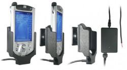 Support voiture  Brodit Compaq iPAQ 38xx  installation fixe - Avec rotule, connectique Molex pour le GPS et le transfert de données. Chargeur 2A. Non expansionpack. Réf 971569