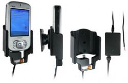 Support voiture  Brodit HTC Magician  installation fixe - Avec rotule, connectique Molex. Chargeur 2A. Réf 971625