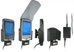 Support voiture  Brodit HP iPAQ hx21xx  installation fixe - Avec rotule, connectique Molex pour le GPS et le transfert de données. Chargeur 2A. Réf 971630