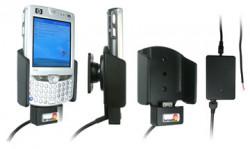 Support voiture  Brodit HP iPAQ hw65xx  installation fixe - Pour fixe installer, avec système de connecteur Molex, chargeur 2A. Uniquement pour batterie standard. Réf 971639