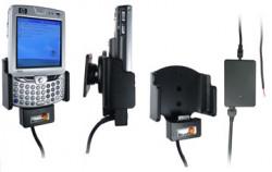Support voiture  Brodit HP iPAQ hw65xx  installation fixe - Avec rotule, connectique Molex pour le GPS et le transfert de données. Chargeur 2A. Réf 971648