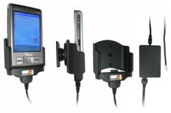 Support voiture  Brodit Fujitsu-Siemens Pocket Loox C550  installation fixe - Avec rotule, connectique Molex pour le GPS et le transfert de données. Chargeur 2A. Réf 971658