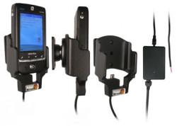 Support voiture  Brodit Qtek G100  installation fixe - Avec rotule, connectique Molex. Chargeur 2A. Réf 971662