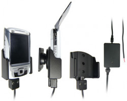 Support voiture  Brodit HP iPAQ rw68xx  installation fixe - Avec rotule, connectique Molex, chargeur 2A. Réf 971674