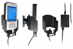 Support voiture  Brodit Vodafone VPA Compact  installation fixe - Avec rotule, connectique Molex. Chargeur 2A. Réf 971680