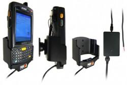 Support voiture  Brodit Motorola MC70  installation fixe - Avec rotule, connectique Molex pour le GPS et le transfert de données. Chargeur 2A. Uniquement pour batterie standard. Réf 971685