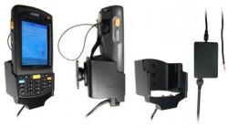 Support voiture  Brodit Motorola MC70  installation fixe - Avec rotule, connectique Molex pour le GPS et le transfert de données. Chargeur 2A. Pour appareil avec batterie standard et étendu. Réf 971707