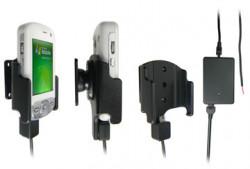 Support voiture  Brodit HTC P3600  installation fixe - Avec rotule, connectique Molex. Chargeur 2A. Réf 971715