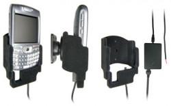 Support voiture  Brodit Palm Treo 680  installation fixe - Avec rotule, connectique Molex. Chargeur 2A. Réf 971728